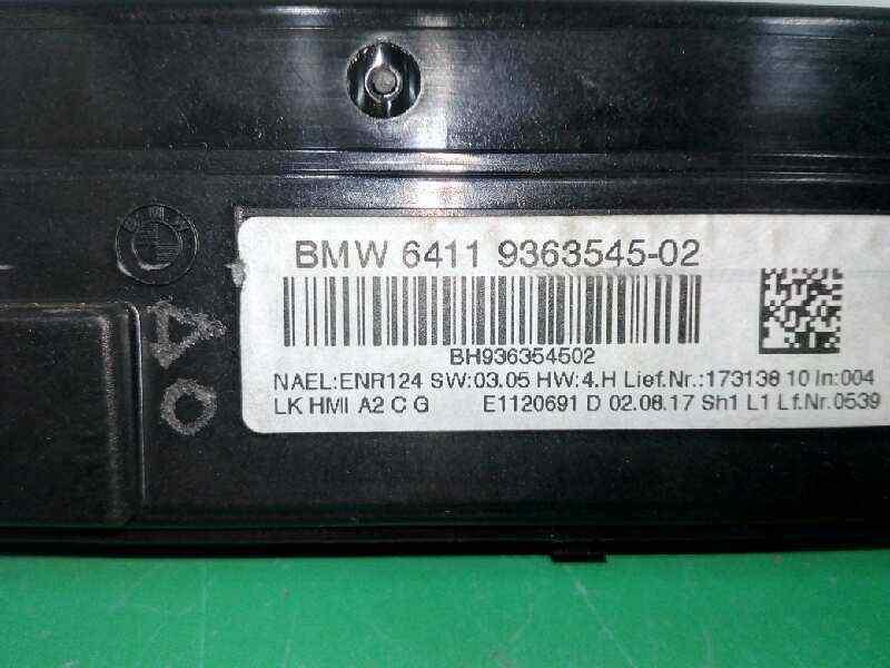MANDO CLIMATIZADOR BMW BAUREIHE 3 TOURING  (F31) 318d  2.0 16V Turbodiesel (150 CV)     0.15 - ..._img_2