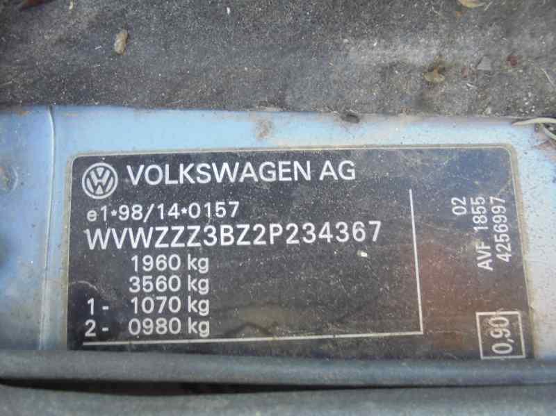 VOLKSWAGEN PASSAT BERLINA (3B3) Advance  1.9 TDI (131 CV)     10.03 - 12.05_img_5