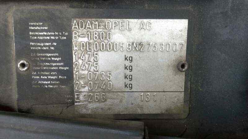 OPEL ASTRA F BERLINA Básico  1.6 16V (101 CV) |   08.95 - ..._img_5