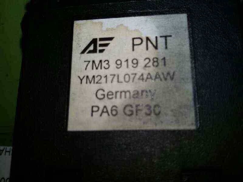 INTERRUPTOR VOLKSWAGEN SHARAN (7M6/7M9) V6 Highline 4Motion  2.8 V6 24V (204 CV) |   04.00 - 12.03_img_2