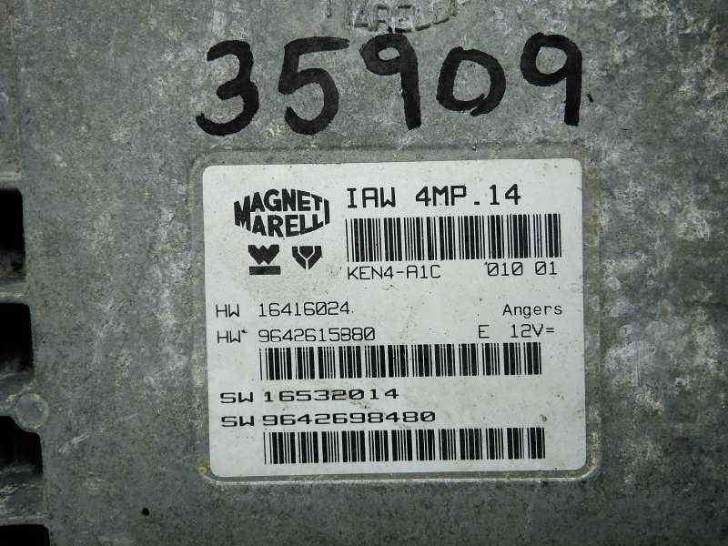 CENTRALITA MOTOR UCE PEUGEOT 607 (S1) Básico  2.2  (158 CV) |   12.00 - 12.04_img_2