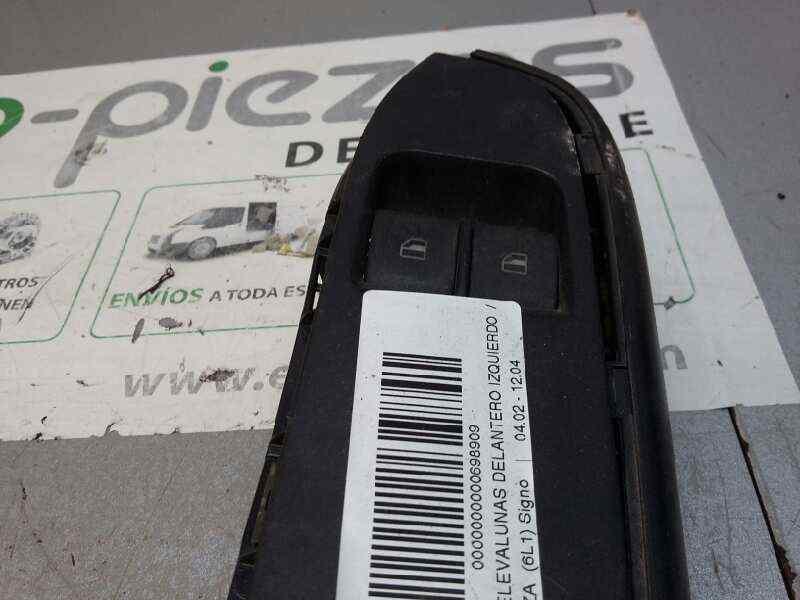 MANDO ELEVALUNAS DELANTERO IZQUIERDO  SEAT IBIZA (6L1) Signo  1.4 16V (75 CV) |   04.02 - 12.04_img_1