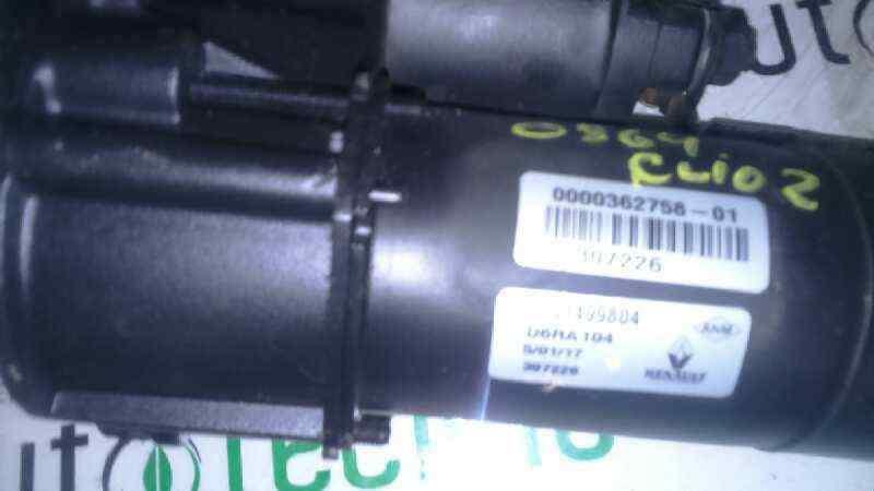 MOTOR ARRANQUE RENAULT CLIO II FASE I (B/CBO) 1.9 D   (64 CV) |   12.98 - 12.99_img_1