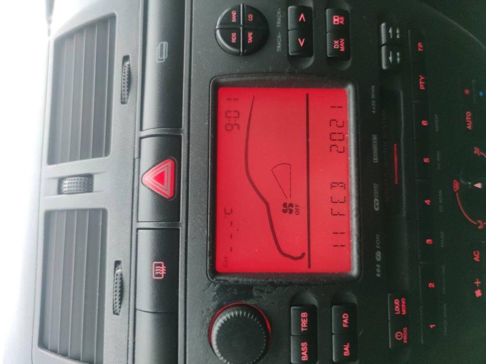 SISTEMA AUDIO / RADIO CD SEAT CORDOBA BERLINA (6K2) Sport  1.9 TDI (90 CV) |   08.99 - 12.03_img_0