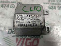 centralita airbag renault clio ii fase ii (b/cb0) authentique 1.2 (58 cv) 2001-2008