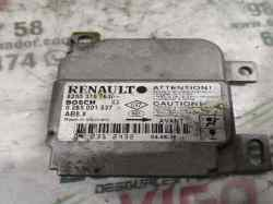 centralita airbag renault clio ii fase ii (b/cb0) authentique confort  1.5 dci diesel (65 cv) 2004- 8200375763