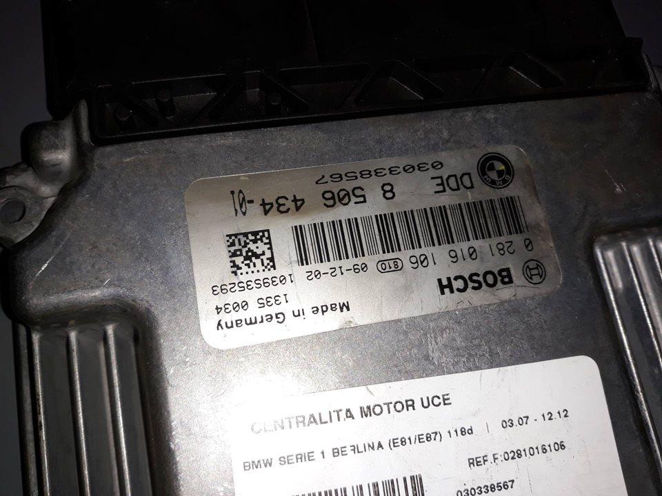 CENTRALITA MOTOR UCE BMW SERIE 1 BERLINA (E81/E87) 118d  2.0 Turbodiesel CAT (143 CV) |   03.07 - 12.12_img_1