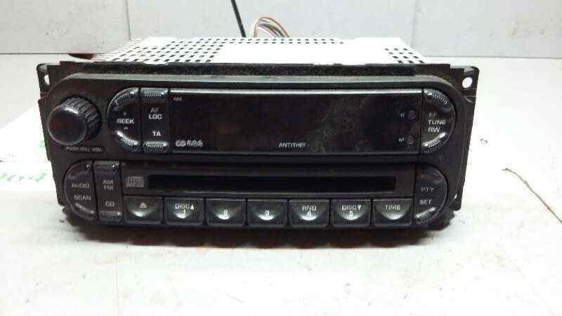 SISTEMA AUDIO / RADIO CD CHRYSLER VOYAGER (RG) 2.8 CRD SE Grand Voyager (D)   (150 CV)     03.04 - 12.08_img_0