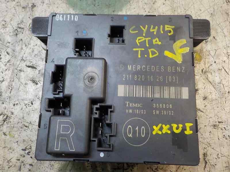 MODULO ELECTRONICO MERCEDES CLASE E (W211) BERLINA E 350 (211.056)  3.5 V6 CAT (272 CV) |   10.04 - 12.09_img_2