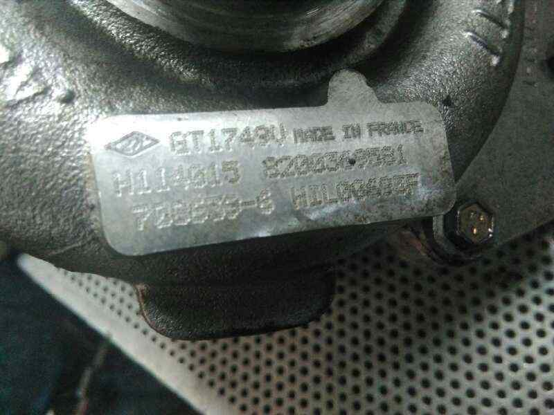 TURBOCOMPRESOR RENAULT SCENIC II Grand Confort Authentique  1.9 dCi Diesel (120 CV)     04.04 - 12.05_img_3