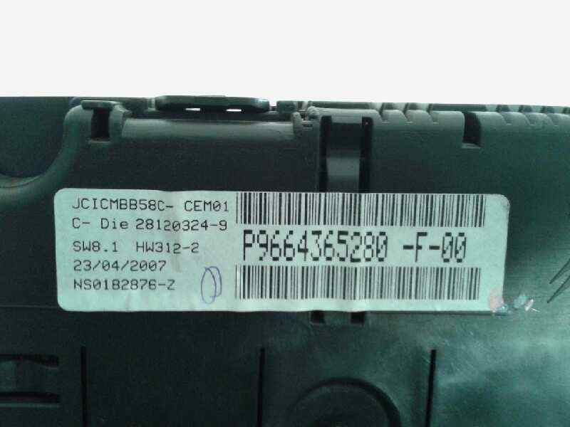 CUADRO INSTRUMENTOS CITROEN C4 GRAND PICASSO Exclusive  2.0 HDi FAP CAT (RHR / DW10BTED4) (136 CV) |   10.06 - 12.11_img_1