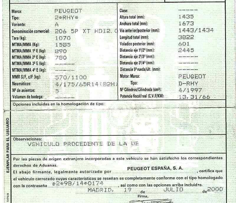 MANETA EXTERIOR PORTON PEUGEOT 206 BERLINA XT  2.0 HDi CAT (90 CV) |   12.99 - 12.05_img_4