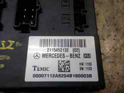 MODULO ELECTRONICO MERCEDES CLASE E (W211) BERLINA E 350 (211.056)  3.5 V6 CAT (272 CV) |   10.04 - 12.09_mini_2