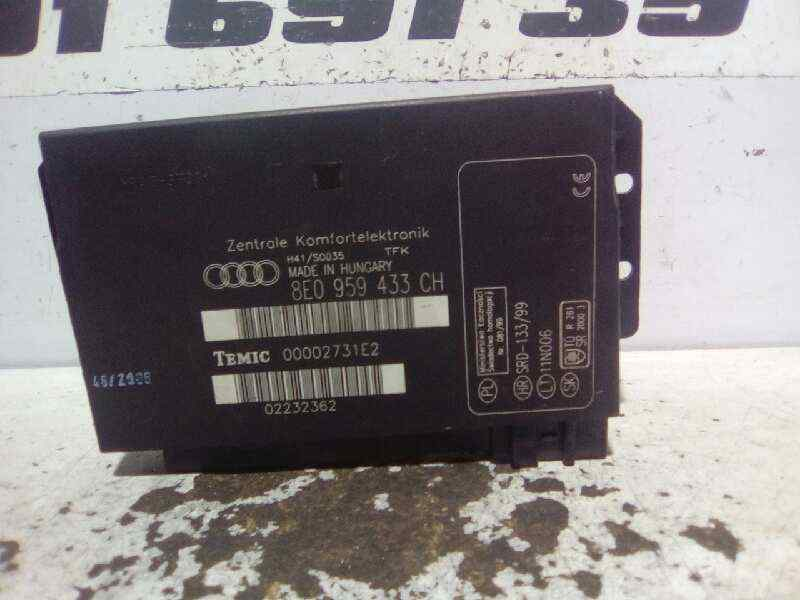 MODULO CONFORT AUDI A4 AVANT (8E) 2.0 TDI   (140 CV) |   11.04 - 12.08_img_0