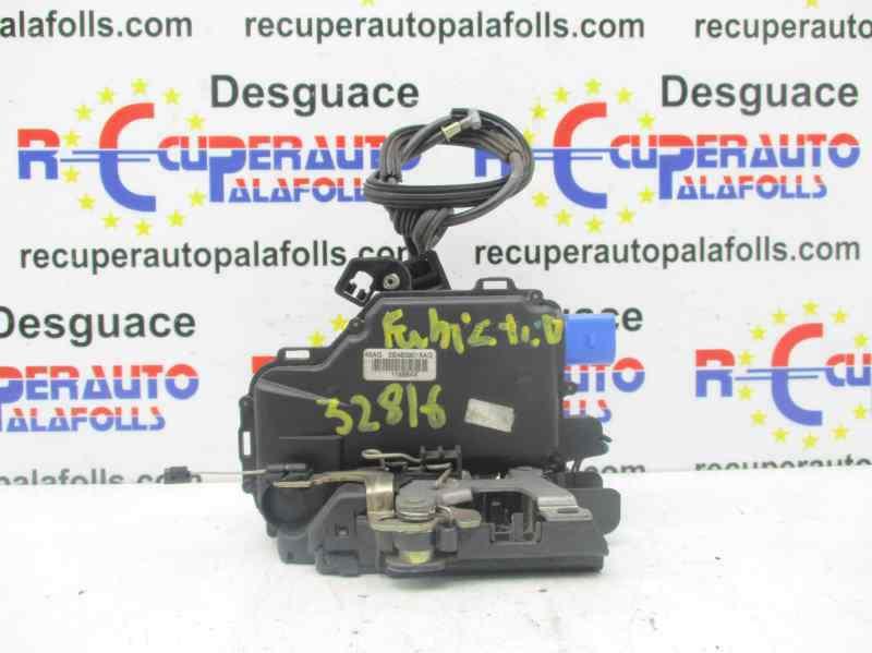 CERRADURA PUERTA TRASERA DERECHA  SKODA FABIA (6Y2/6Y3) Comfort  1.4  (60 CV) |   01.00 - 12.04_img_0