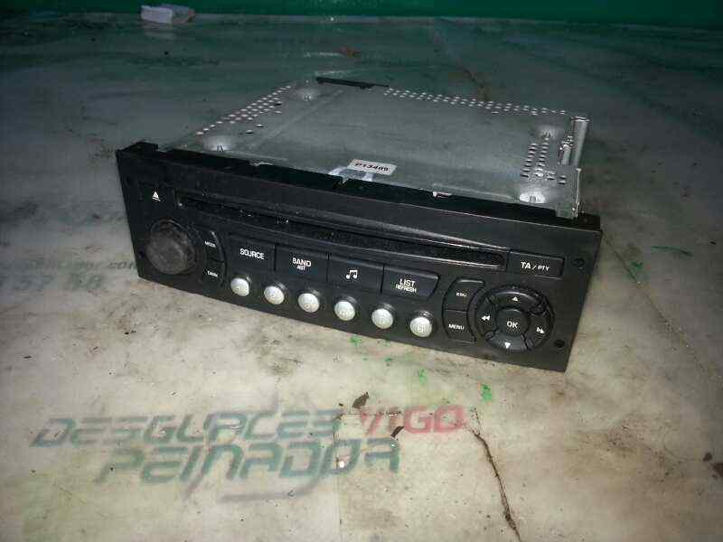 SISTEMA AUDIO / RADIO CD CITROEN C3 1.6 HDi Audace   (90 CV) |   07.07 - 12.08_img_0