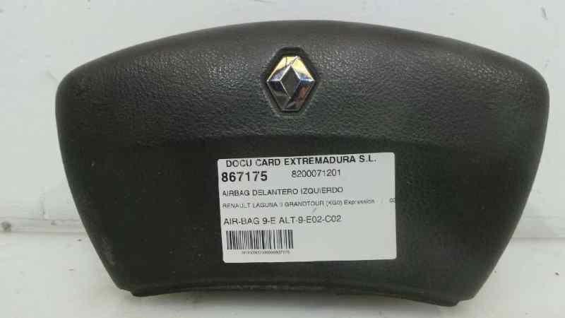 AIRBAG DELANTERO IZQUIERDO RENAULT LAGUNA II GRANDTOUR (KG0) Expression  1.9 dCi Diesel CAT (107 CV) |   03.01 - 12.02_img_0