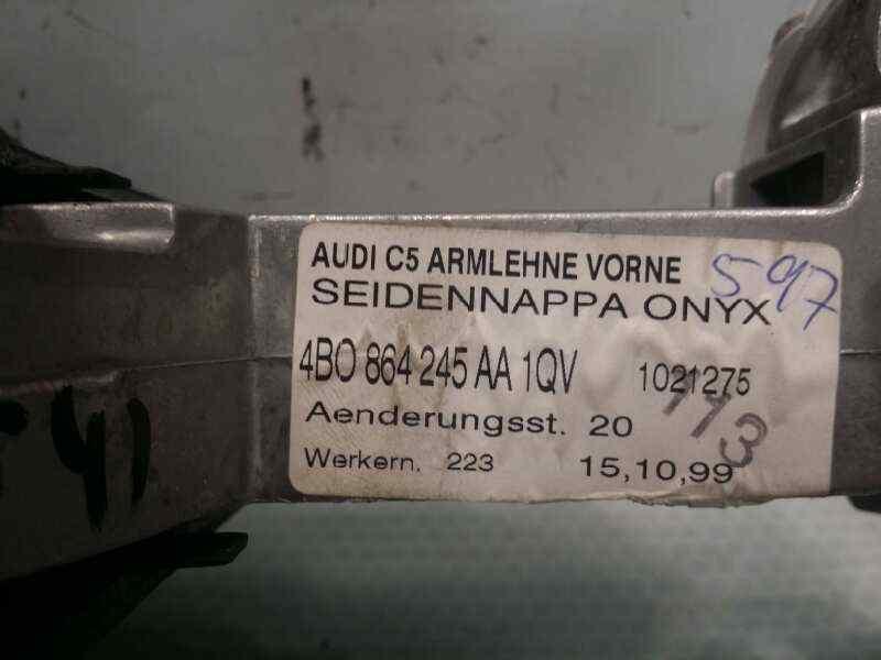 APOYABRAZOS CENTRAL AUDI A6 BERLINA (4B2) 4.2 Quattro   (299 CV) |   03.99 - 12.01_img_5