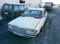 mercedes clase e (w123) berlina+coupe d 300  3.0 diesel (88 cv) 1979-  WDB12313010