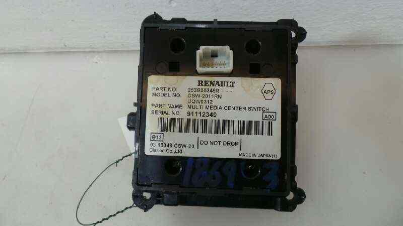 MANDO MULTIFUNCION RENAULT LAGUNA III Authentique  2.0 dCi Diesel CAT (131 CV) |   09.07 - 12.09_img_1