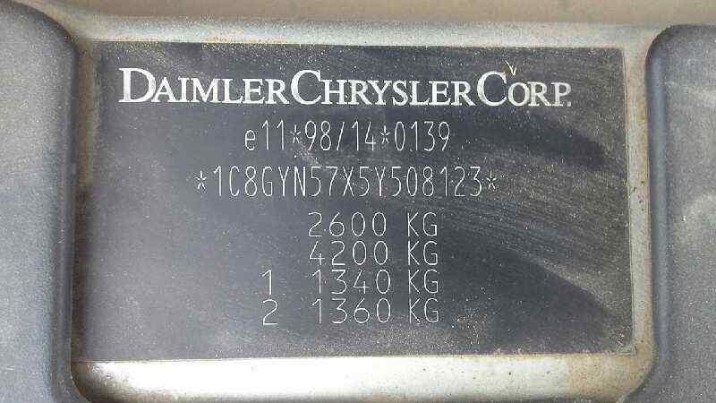 CHRYSLER VOYAGER (RG) 2.5 CRD SE Grand Voyager   (143 CV) |   03.01 - 12.03_img_3