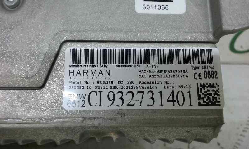 SISTEMA NAVEGACION GPS BMW SERIE X5 (F15) xDrive30d  3.0 Turbodiesel (258 CV)     08.13 - 12.15_img_3
