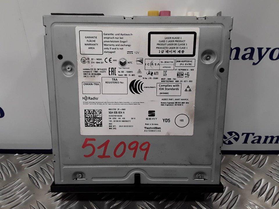 SISTEMA AUDIO / RADIO CD SEAT IBIZA SC (6P5) Reference Connect  1.0 TSI (95 CV)     ..._img_2