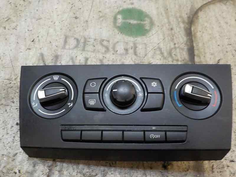 MANDO CALEFACCION /  AIRE ACONDICIONADO BMW SERIE 3 BERLINA (E90) 320d  2.0 16V Diesel (163 CV) |   12.04 - 12.07_img_0