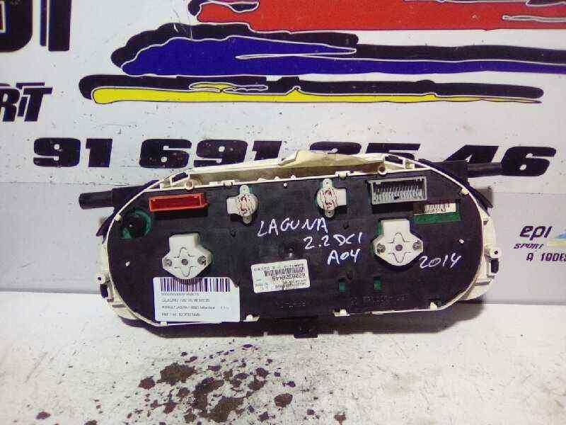 CUADRO INSTRUMENTOS RENAULT LAGUNA II (BG0) Authentique  2.2 dCi Turbodiesel (150 CV) |   0.01 - ..._img_3