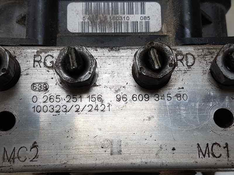 ABS CITROEN C4 PICASSO Cool  1.6 16V HDi FAP (109 CV)     08.08 - 12.10_img_2
