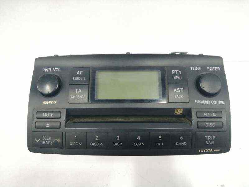 SISTEMA AUDIO / RADIO CD TOYOTA COROLLA (E12) 1.6 Linea Terra Berlina   (110 CV)     10.01 - 12.07_img_0