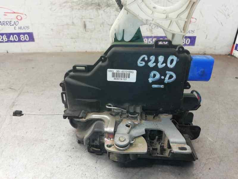 CERRADURA PUERTA DELANTERA DERECHA SEAT IBIZA (6L1) Cool  1.4 16V (75 CV) |   05.04 - 12.06_img_0