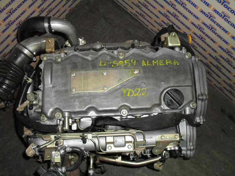 MOTOR COMPLETO NISSAN ALMERA (N16/E) 2.2 16V Turbodiesel CAT   (110 CV)     0.00 - ..._img_0