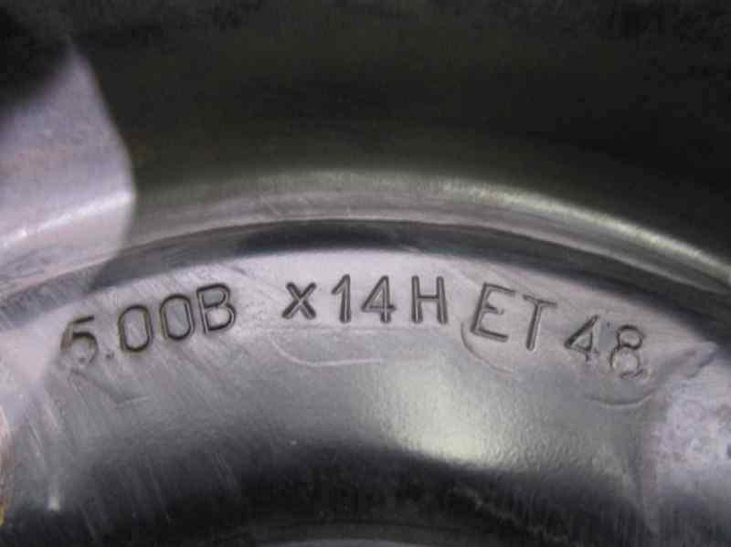 LLANTA FIAT PUNTO BERL. (176) TD S / TD 70 S  1.7 Turbodiesel (71 CV) |   09.93 - 12.97_img_3