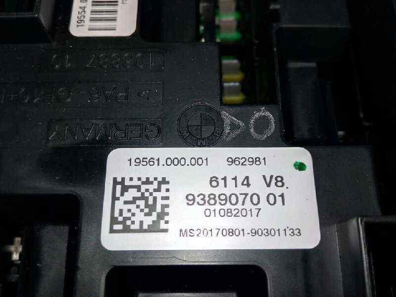 CAJA RELES / FUSIBLES BMW BAUREIHE 3 TOURING  (F31) 318d  2.0 16V Turbodiesel (150 CV)     0.15 - ..._img_2