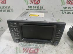 sistema audio / radio cd porsche cayenne (typ 9pa) s 4.5 v8 cat (340 cv) 2002-2007