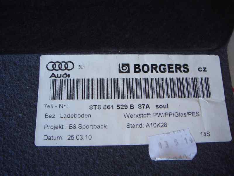BANDEJA TRASERA AUDI A5 SPORTBACK (8T) 2.0 TFSI Quattro (155kW)   (211 CV) |   05.09 - 12.11_img_2