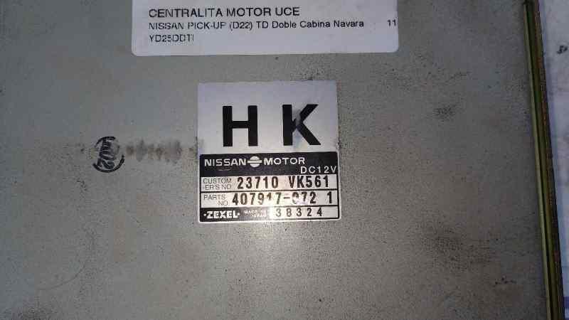 CENTRALITA MOTOR UCE NISSAN PICK-UP (D22) TD Doble Cabina Navara  2.5 16V Turbodiesel CAT (133 CV) |   11.01 - ..._img_2