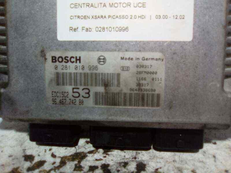 CENTRALITA MOTOR UCE CITROEN XSARA PICASSO 2.0 HDi   (90 CV)     03.00 - 12.02_img_0