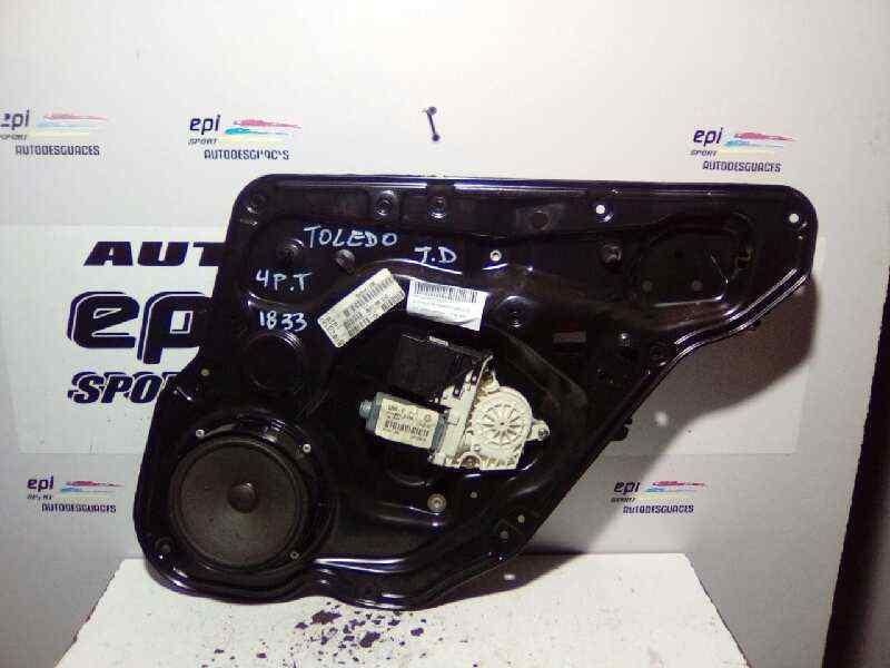 ELEVALUNAS TRASERO DERECHO SEAT TOLEDO (1M2) Signo  1.9 TDI (110 CV) |   05.99 - 12.04_img_0