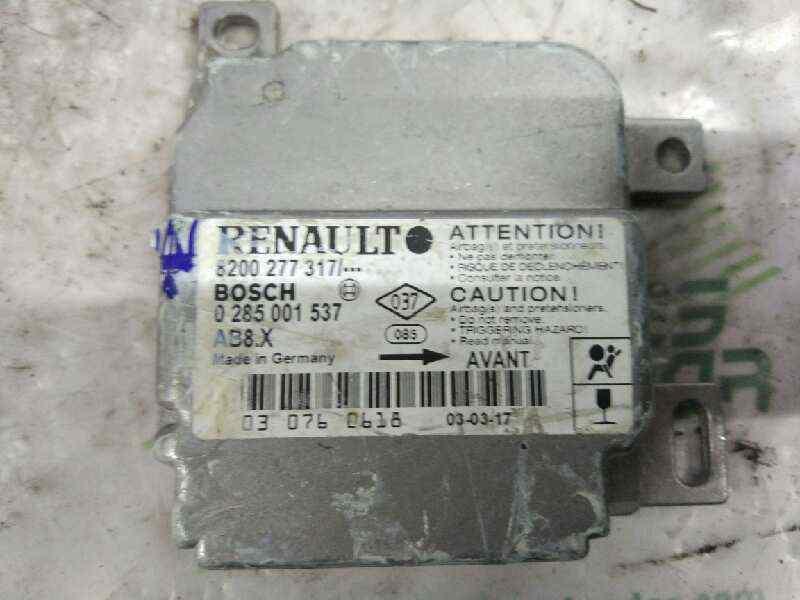 CENTRALITA AIRBAG RENAULT CLIO II FASE II (B/CB0) Expression  1.2  (75 CV) |   06.01 - 12.03_img_0