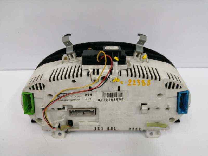 CUADRO INSTRUMENTOS AUDI TT (8N3/8N9) 1.8 T Coupe (132kW)   (180 CV) |   10.98 - 12.05_img_2