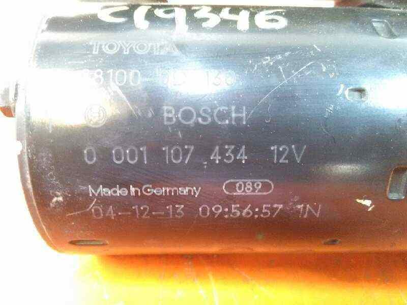 MOTOR ARRANQUE TOYOTA COROLLA (E12) 1.6 Linea Terra Berlina   (110 CV)     10.01 - 12.07_img_2