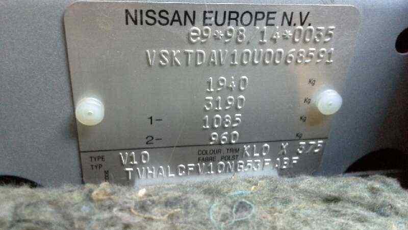 LLANTA NISSAN ALMERA TINO (V10M) Acenta  2.2 dCi Diesel CAT (112 CV) |   04.03 - 12.06_img_2