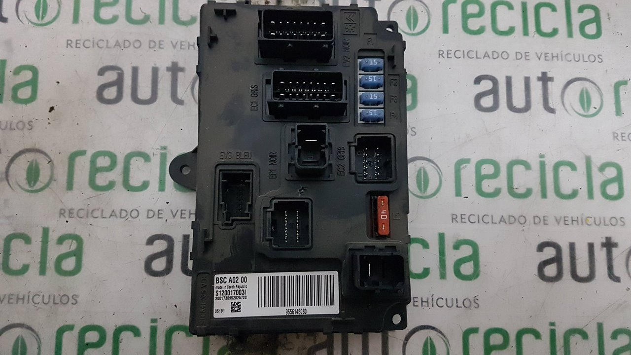 MODULO ELECTRONICO PEUGEOT 407 SR Confort  1.8 16V CAT (116 CV)     05.04 - 12.05_img_0