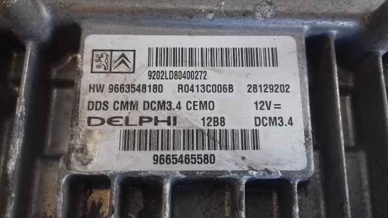 CENTRALITA MOTOR UCE PEUGEOT 407 Sport  2.0 16V HDi FAP (140 CV) |   11.08 - ..._img_3
