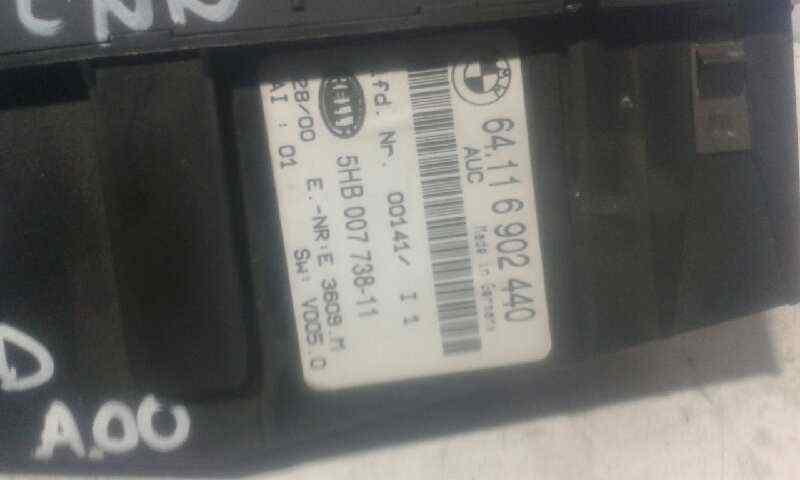 MANDO CALEFACCION /  AIRE ACONDICIONADO BMW SERIE 3 BERLINA (E46) 330d  3.0 24V Turbodiesel CAT (184 CV) |   02.00 - 12.03_img_1