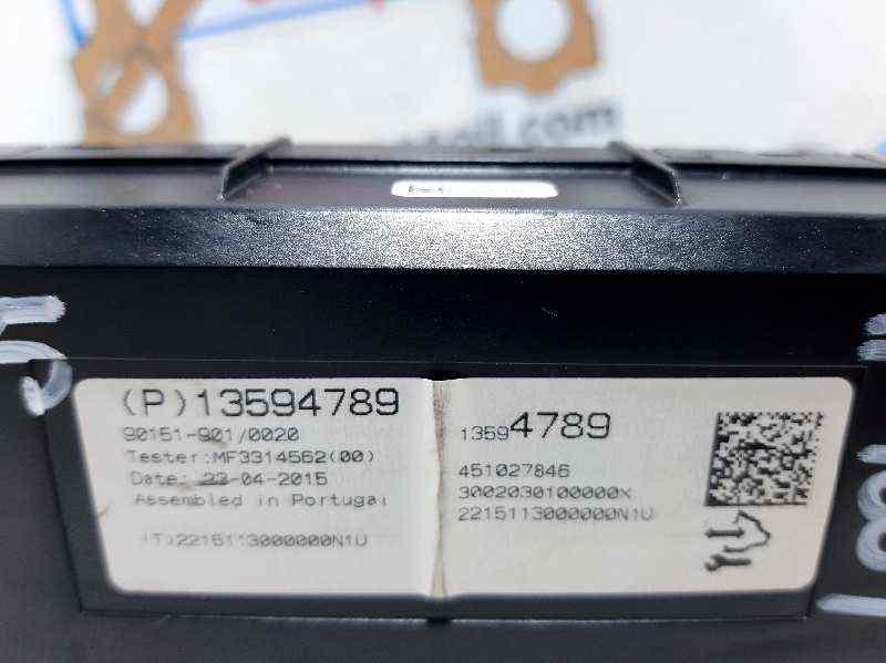 MODULO CONFORT OPEL MERIVA B Selective  1.4 16V Turbo (bivalent. Gasolina / LPG) (120 CV) |   01.12 - 12.15_img_1
