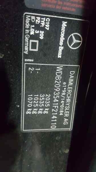 GUANTERA MERCEDES CLASE CLK (W209) COUPE 280 (209.354)  3.0 V6 CAT (231 CV) |   05.05 - 12.09_img_3