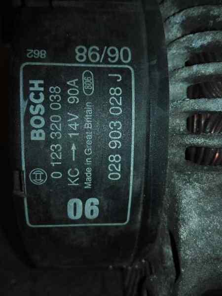 ALTERNADOR SEAT IBIZA (6K) Básico  1.9 Diesel CAT (1Y) (64 CV) |   12.96 - 12.97_img_1
